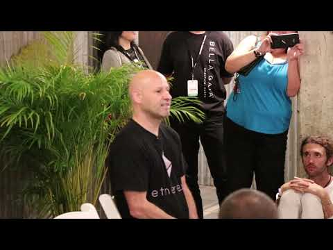 """""""How will new tokens effect and interact with Ethereum?"""" - Joe Lubin Q&A World's Fair Nano"""