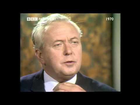 BBC Election 1970 David Dimbleby Harold Wilson