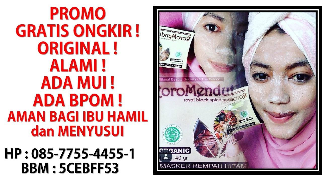 085775544551 Roro Mendut Review Gratis Ongkir Youtube Masker Rempah Hitam
