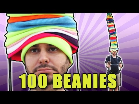 100 LAYERS OF BEANIES