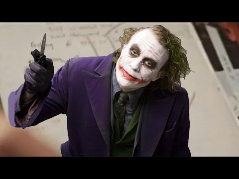 the joker heath ledger hospital scene from meet