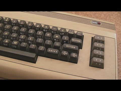 Commodore 64 (C64) Keyboard Repair & Cleaning