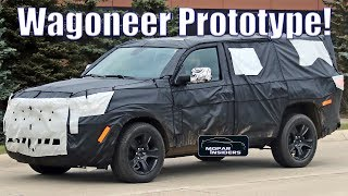 2021 Jeep Wagoneer Prototype Spotted In Production Body!