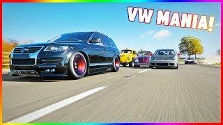 FORZA HORIZON 4 - VW MANIA! CAR MEET VOLKSWAGEN