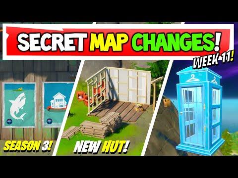 Fortnite | All Secret Map Changes V12.50 & Easter Eggs!