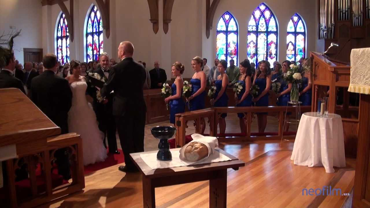allen wedding video shelby nc at episcopal church of the redeemer leona neal senior center youtube