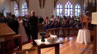 Allen Wedding Video Shelby, NC at Episcopal Church of The Redeemer & Leona Neal Senior Center