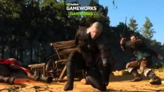 Ведьмак 3: Дикая охота — видео NVIDIA GameWorks