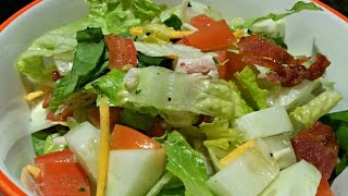 BEST Chopt Salad - HEALTHY! (Minus the Bacon)