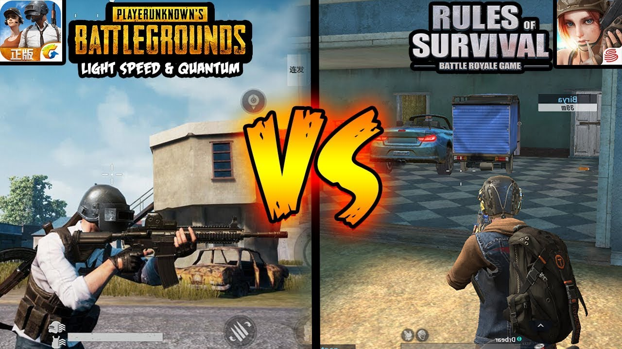 How To Change Graphics From Pubg Mobile Battlefield On: RULES OF SURVIVAL VS PUBG MOBILE : BATTLEFIELD GRAPHICS