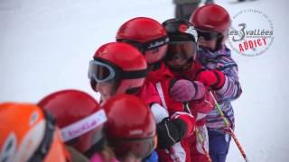 Les 3 Vallées Easy Rider France 2013/14 COURCHEVEL - Classe de neige