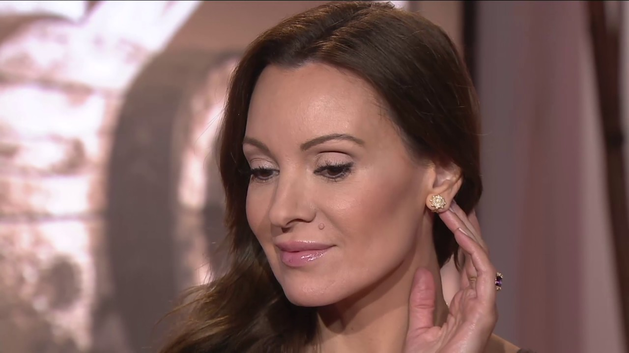 Judith Ripka 14k Gold 1 2 Cttw Diamond Stud Earrings On Qvc