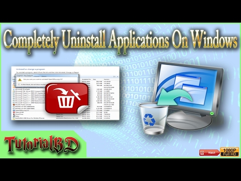 How To Completely Uninstall & Remove Program On Windows 7,8.1,10
