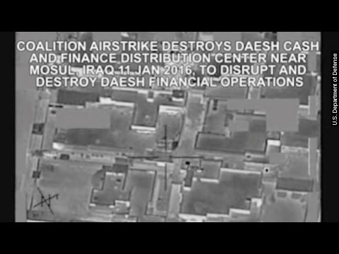 The US Blew Up A Huge Stash Of ISIS' Cash - Newsy