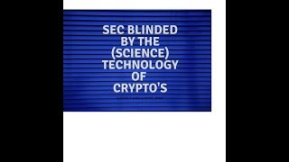 SEC blinded by (science) technology thumbnail