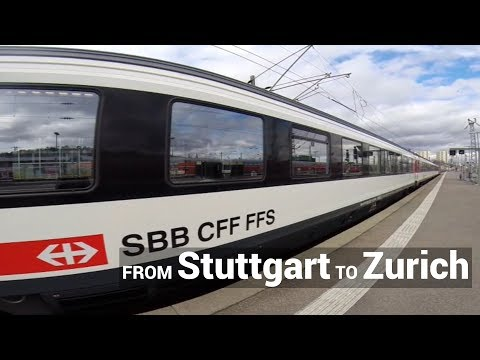 Stuttgart to Zurich by Train