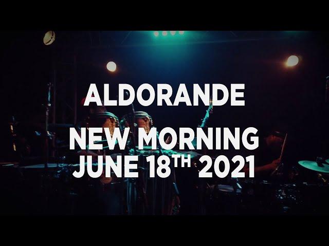 Aldorande - Percussive Jam (Live At New Morning) - June 2021