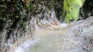 Водопад Прохладный в ущелье Чудо-Красотка (Солоники)