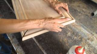 Carpintería - Puertas en corte 45°