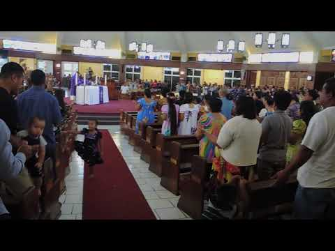 Excerpts of a Chuukese Catholic Mass in Dededo, Guam