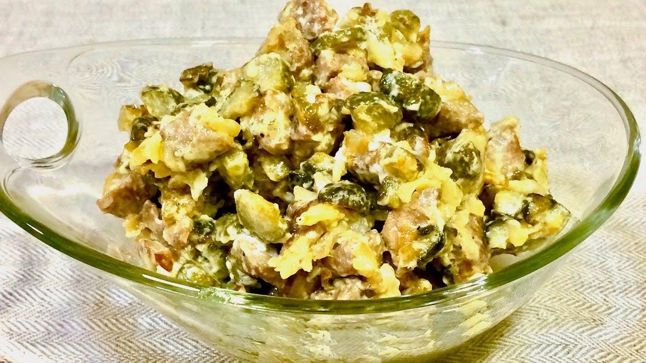 Рецепты просто салатов