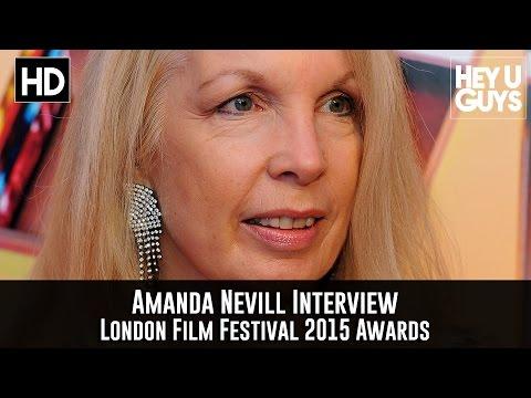 Amanda Nevill Interview - London Film Festival 2015 Awards