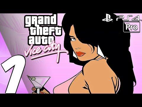 Grand Theft Auto Vice City - Gameplay Walkthrough Part 1 - Prologue (Remaster) PS4 PRO