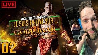 Je suis en live sur... God Of War 3 partie 02  #ps4share
