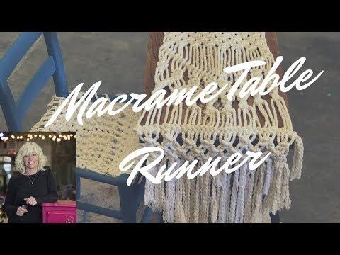 macrame-table-runner
