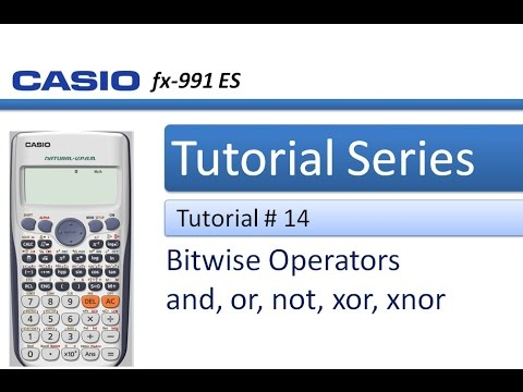 How to perform Bitwise and, or , not, xor and xnor Operations in Calculator