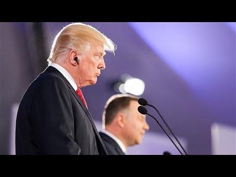 Trump Condemns North Korea on Poland Trip