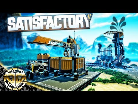 CRUDE OIL DELIVERY : Transporting Oil Using Vehicles - Satisfactory Gameplay - Early Access