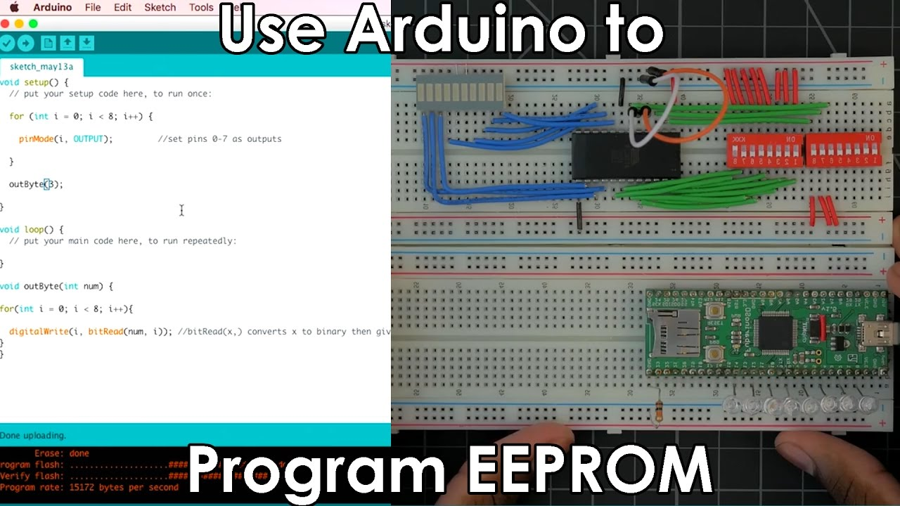 Convert Binary To Decimal For A 7 Segment Display With Arduino 8 Bcd Converter Electronics Telecommunication Circuit Bit Cpu