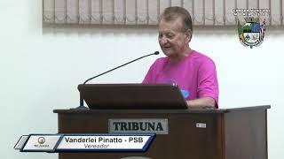33ª Sessão Ordinária - Vereador Pinatto