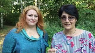 Наталья Тарасова и Татьяна Романова Основатели проекта ArtWaveSchool Онлайн Школы Гуаши