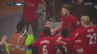 Para aca para alla golazo! FIFA 17_2017 07 10