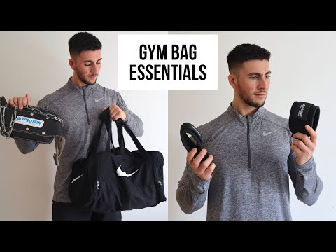 GYM BAG ESSENTIALS | WHATS IN MY GYM BAG 2019 | EQUIPMENT, ACCESSORIES, BASICS