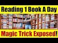 How Does Tai Lopez Read 1 Book Per Day - The Magic Trick Exposed!
