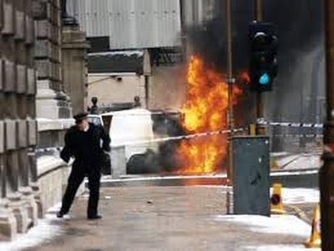 IRA Mortar Attack - 10 Downing Street, London (1991)