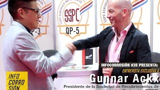 Gunnar Ackx:  👔 Protagonista del Control de Corrosión