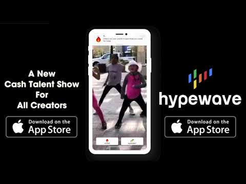 HypeWave App - Cash Talent Show