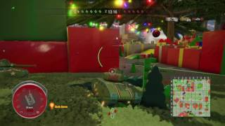 World of Tanks - Christmas Toy Tank - Death from above