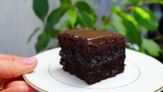 Пирожное Ночка Шоколадный Торт на кефире Очень мягкий нежный и простой в приготовлении