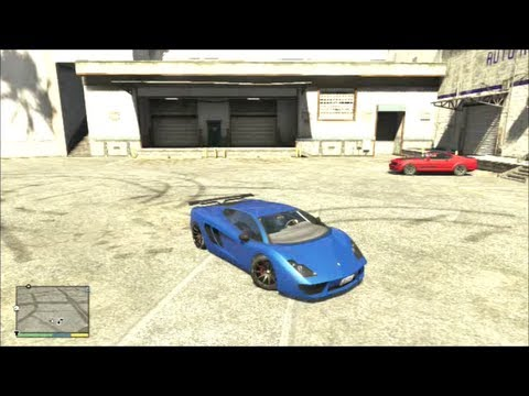 GTA 5 - Lamborghini Gallardo (Peggassi Vacca) thumbnail