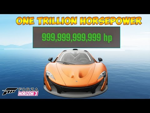 Forza Horizon 3 - One Trillion Horsepower Mclaren P1 -  Mods