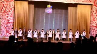 Лезгинка, 1 класс, Школа искусств Алматы