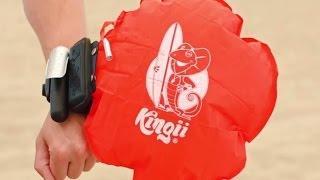Спасательный браслет Кingii: С ним вы никогда не утоните