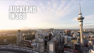 Auckland, New Zealand in 360: A City of Natural Wonders