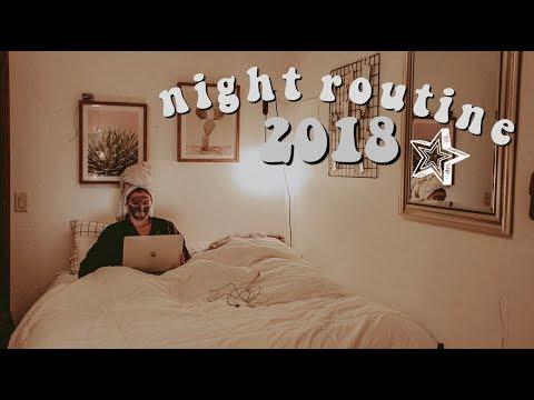FALL SCHOOL NIGHT ROUTINE 2018 | Josie Jabs