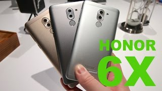 Honor 6X Unboxing & Hands On
